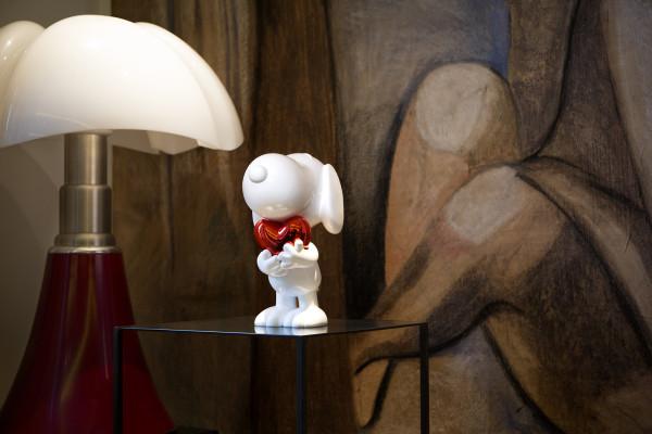 Statuette Snoopy par Leblon Delienne