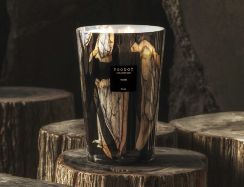 Baobab collection : bougies talismans, brûlage haute-couture, esthétique de l'Ailleurs …