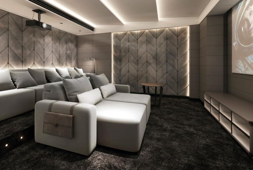 Salle de projection