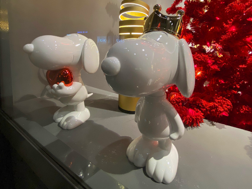 Statuettes Snoopy Leblon Delienne