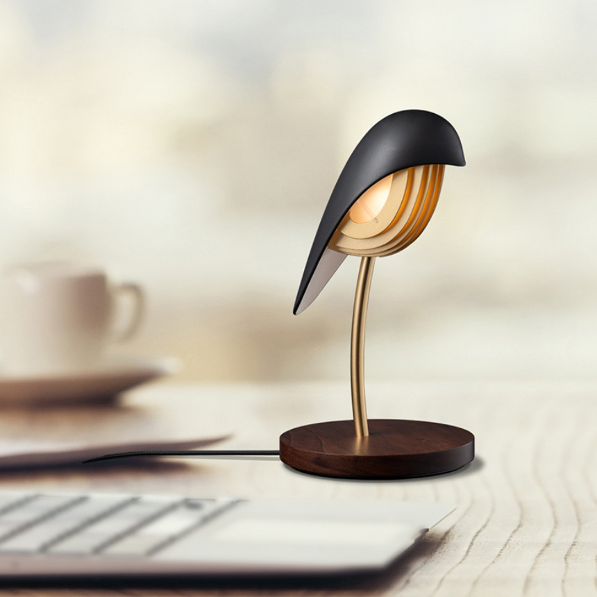 Lampe Bird connectée