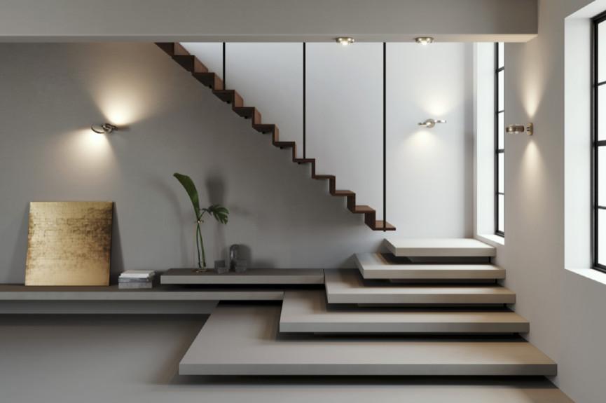 éclairage d'escalier