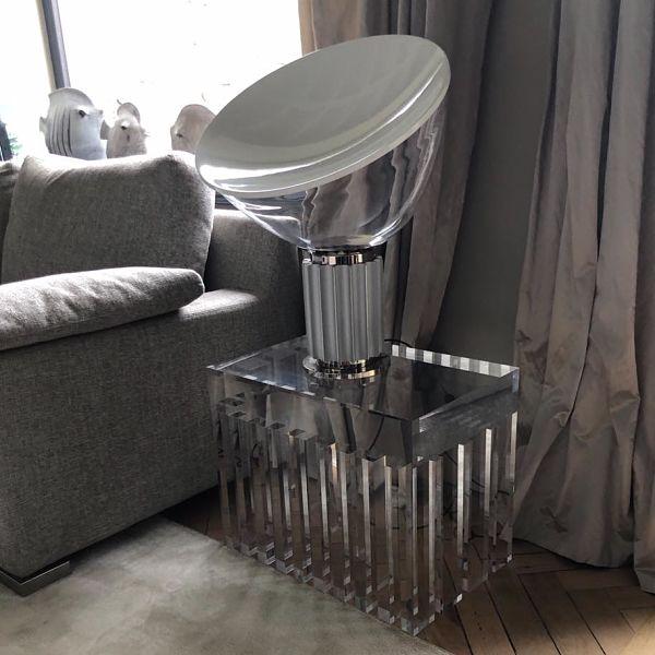 table luxis et lampe design