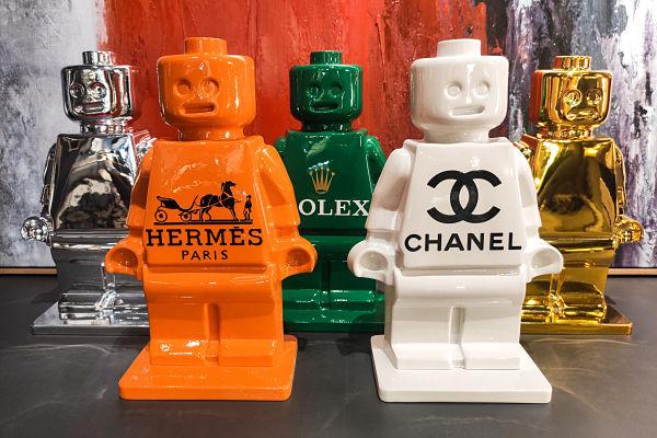 statuettes alter ego marques de luxe